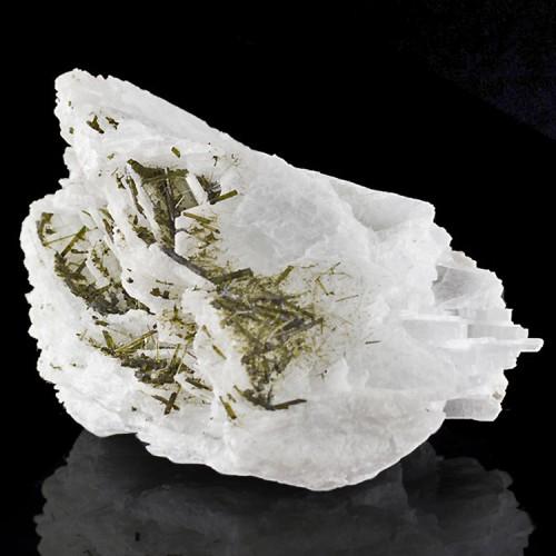 """4.8"""" Lustrous Gemmy GREEN TOURMALINE Crystals..."""