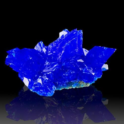 """4.1"""" Shiny Sharp Electric Blue CHALCANTHITE C..."""