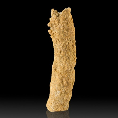 """3.8"""" Fused Sand FULGURITE Melted by Lightning..."""