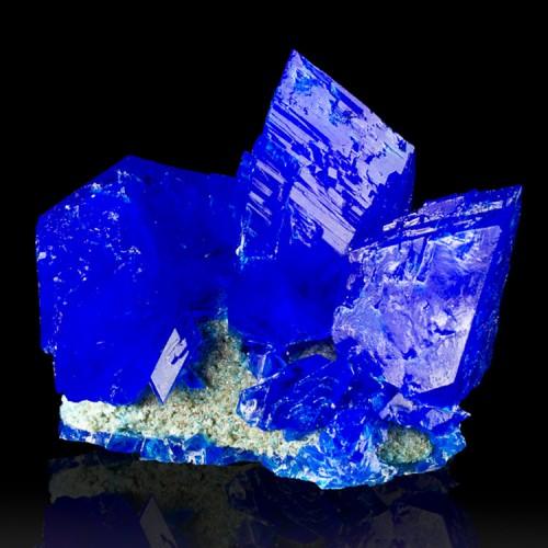 "3.2"" Brilliant Neon Blue CHALCANTHITE Sharp W..."