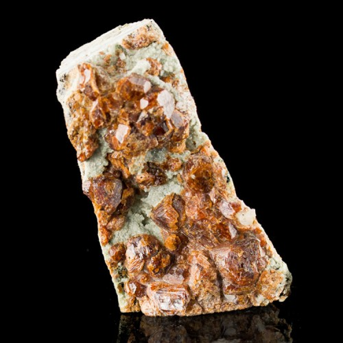 """2.5"""" GROSSULAR GARNET (var. Hessonite) Dark R..."""