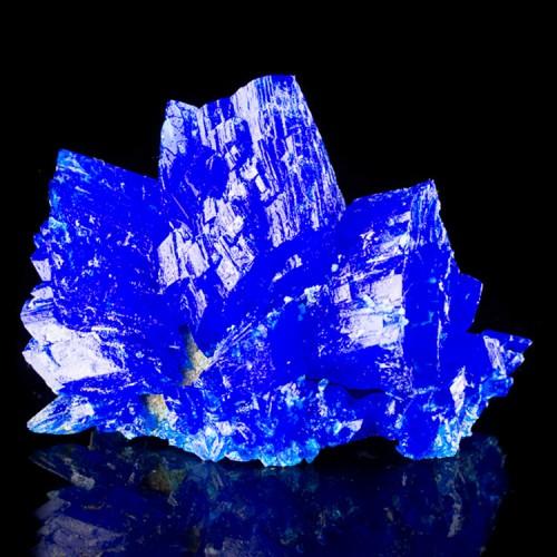 """3.8"""" Sapphire Blue CHALCANTHITE Lab-Grown Gem..."""