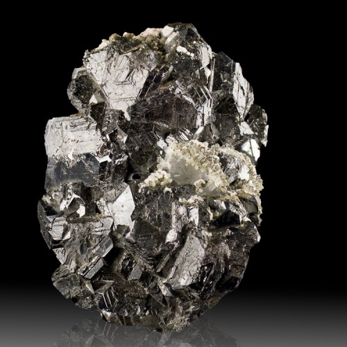 "5"" Shiny Metallic Black SPHALERITE Crystals w..."