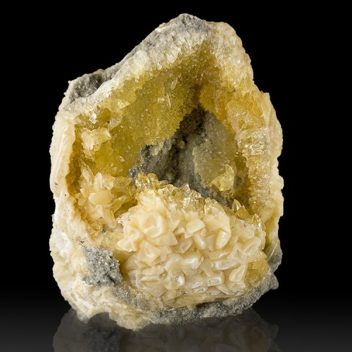 """3.3"""" Gold Jewel-Like CALCITE Crystals Tucked ..."""