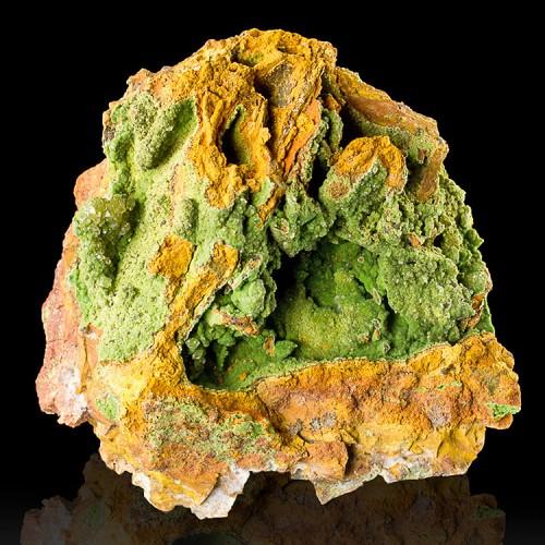 """3.7"""" Broccoli Green CONICHALCITE Sparkling Bo..."""