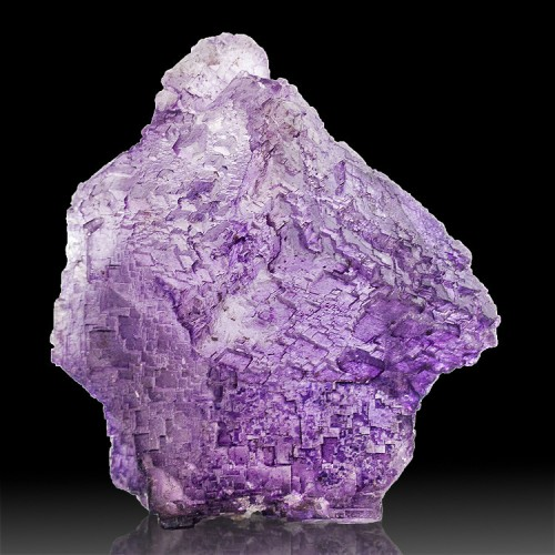 "2.8"" Sharp Lustrous Violet Step Face FLUORITE..."