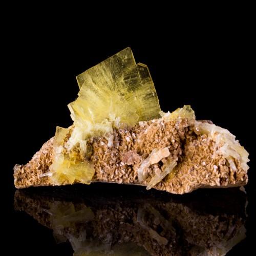 "3.1"" Sharp Gemmy Golden Yellow BARITE Crystal..."