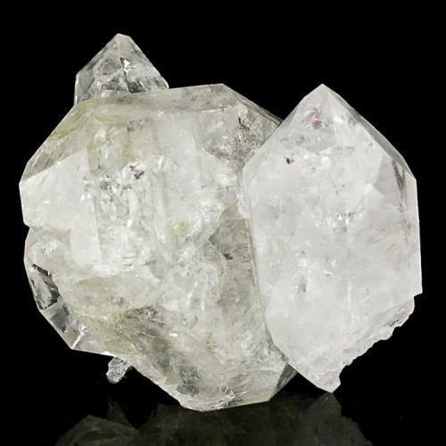 "2.2"" HERKIMER DIAMOND Quartz Cluster 12 Cryst..."