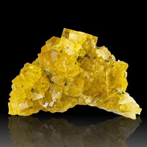 """3.2"""" ButterYellow Cubic Gem FLUORITE Crystals..."""