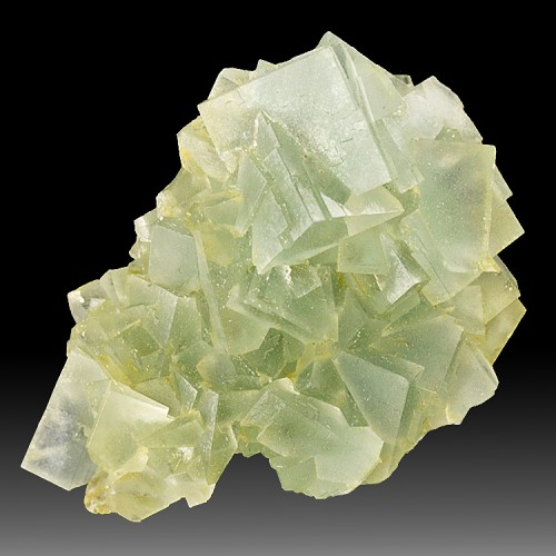"""2.2"""" Pale Blue Green FLUORITE Sharp Cubic Cry..."""
