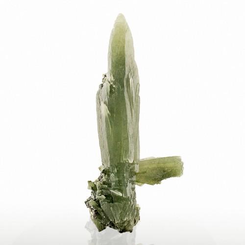 "2.5"" Sharp Mossy Green PRASE QUARTZ Crystals ..."