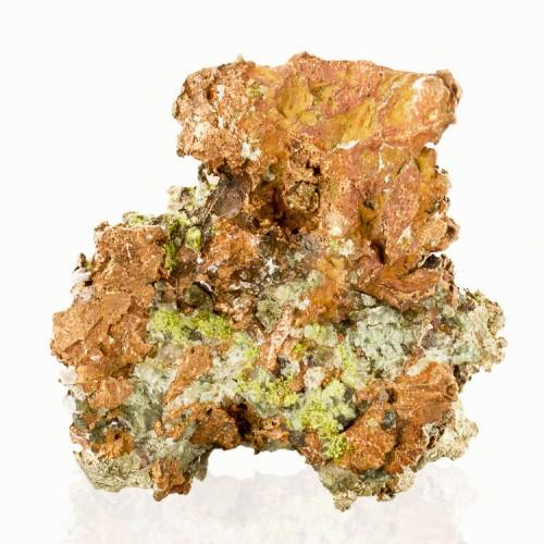 """.9"""" Bright SILVER on Copper Crystal COPPER HA..."""