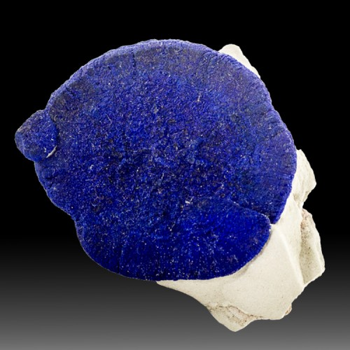 """1.9"""" Fine Sapphire Blue AZURITE SUN on White ..."""