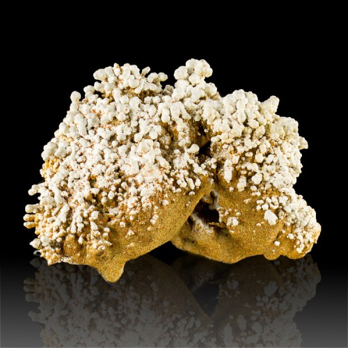 """3.6"""" White DUNDASITE Crystals Type Locality+G..."""
