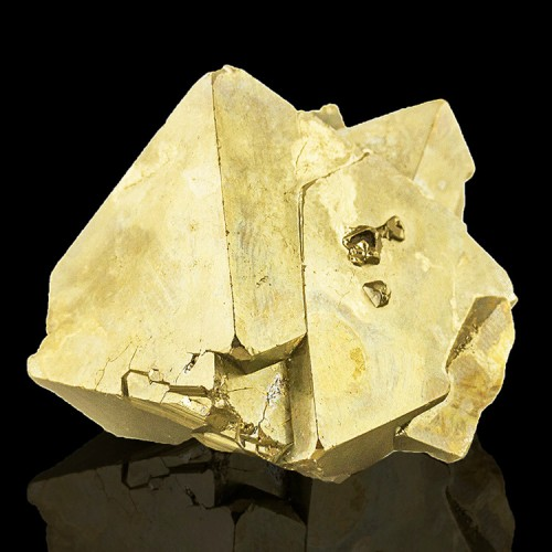 "1.8"" Bright Brassy Golden PYRITE Sharp Smooth..."