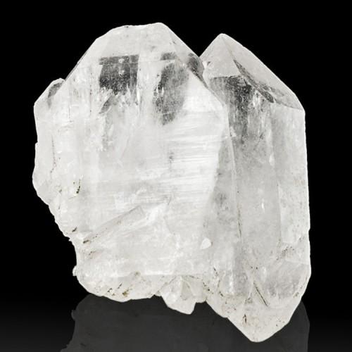 """3"""" Gemmy FADEN QUARTZ Crystal with Sharp Whit..."""