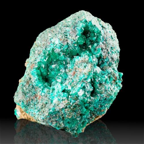"""1.7"""" Wet-Look DarkGreen Gem DIOPTASE Crystals..."""