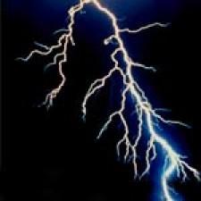 Quartz-Lightning Struck