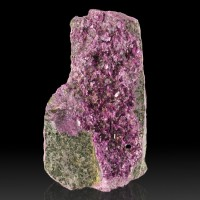 "2.1"" Magenta Purple KAMMERERITE Super Sharp Lustrous Crystals Turkey for sale"