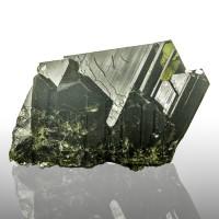 """2"""" 142ct Dark Green EPIDOTE Sharp Wet Look Pristine Crystals Pakistan for sale"""