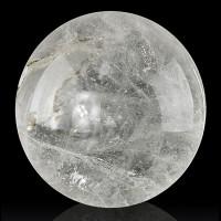 "2.8"" Smooth Clear QUARTZ CRYSTAL BALL Minas Gerais Brazil for sale"