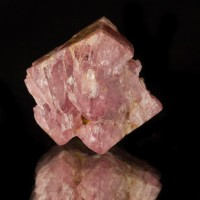 "1.2"" Gemmy Raspberry SPINEL Glassy Hoppered Octahedral Crystal Tanzania for sale"