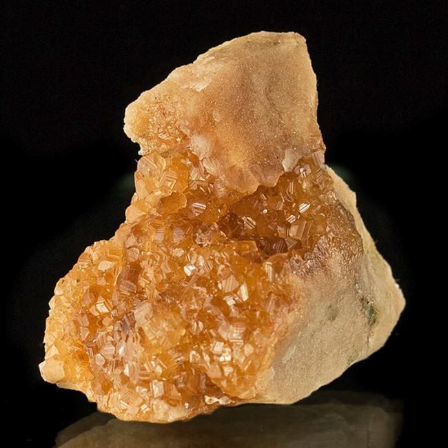 """2.3"""" Sharp & Flashy Orange GROSSULAR GARNET Crystals Jeffrey Q Quebec for sale"""