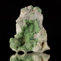 "2.8"" Pistachio Green Botryoidal WAVELLITE Lustrous Crystals Avant ARK for sale"