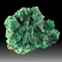 "6.1"" Blue Green Gem FLUORITE Crystals Daylight Fluoresce Rogerley M UK for sale"