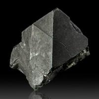 "1.2"" ALABANDITE SharpSmooth Black Octahedral Crystals Meralani Tanzania for sale"