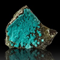 """1.2"""" Superb ROSASITE Turquoise Hemispheres of Crystals Silver Bill M AZ for sale"""