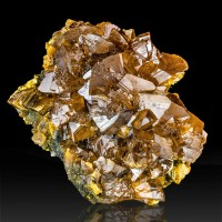 "1.7"" ORPIMENT Sharp Lustrous Orange Crystals to .8"" Twin Creeks NV for sale"