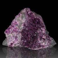 """2.7"""" KAMMERERITE w/Sharp Sparkling PurpleMagenta Crystals to 2mm Turkey for sale"""