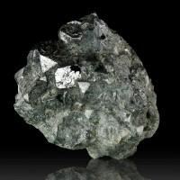 "2.5"" Bright Metallic Silver SKUTTERUDITE Sharp Crystals CobaltOre Congo for sale"
