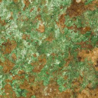 "6"" Lustrous Metallic Green SZENICSITE Good Crystals on Matrix Chile for sale"