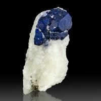 "2.1"" Midnight Blue LAZURITE Crystals Lapis Lazuli in Marble Afghanistan for sale"