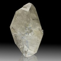 "4"" Sharp Clear Double-Terminated ENHYDRO QUARTZ Crystal Sichuan China for sale"