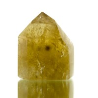 "2.8"" Bright Vibrant Yellow Polished CITRINE QUARTZ Gemmy Crystal Brazil for sale"