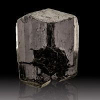 "2.5"" Double Terminated Shiny Flashy Black SCHORL TOURMALINE Namibia for sale"