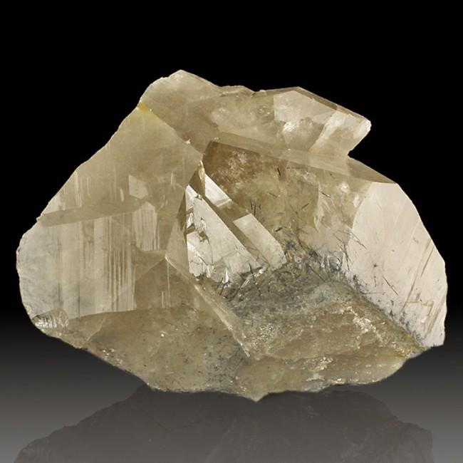 "7.3"" Sharp TOURMALINATED QUARTZ Crystals w/Indicolite Inclusions Brazil for sale"