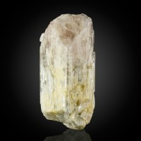 "3.8"" Large Lustrous DANBURITE Pale Pink Single Crystal Mexico for sale"