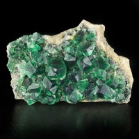 """6.1"""" Super Saturated Blue Green Gemmy FLUORITE Crystals Rogerly Mine UK for sale"""