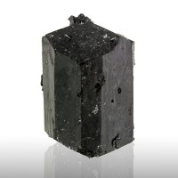 """3.6"""" Pitch Black SCHORL TOURMALINE Shiny DoubleTerminated Crystal China for sale"""