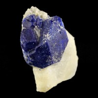 "1.4"" Navy Blue LAZURITE LAPIS LAZULI Sharp Crystals to .8"" Afghanistan for sale"