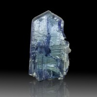 ".9"" 15.1ct Cornflower Blue Terminated Gem TANZANITE Crystal Tanzania for sale"