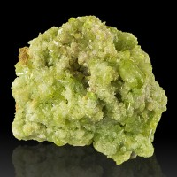 "2.5"" Lustrous Green VESUVIANITE Sparkly Crystals Jeffrey Mine Quebec for sale"