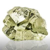 "3.9"" Peruvian GOLDEN PYRITE Metallic Brassy Sharp Shiny Gold Crystals for sale"