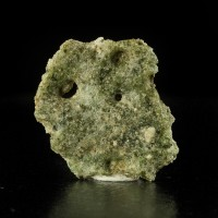"1.1"" 4.87g TRINITITE Glassy Surface Fused by A-Bomb Not Radioactive NM for sale"