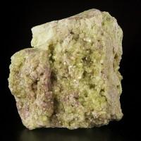 """3.7"""" Green VESUVIANITE +Purple MANGANOVESUVIANITE Gemmy Crystals Quebec for sale"""