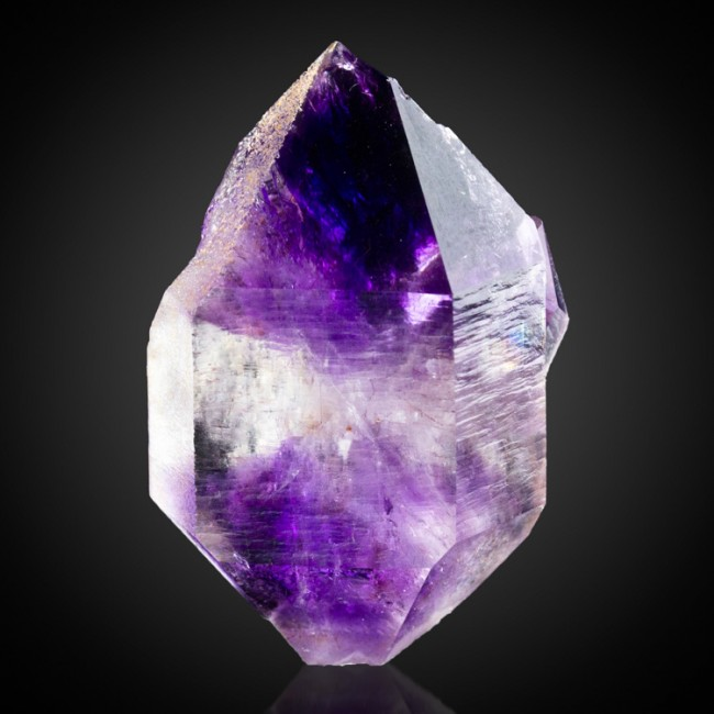 """1.4"""" Double Terminated HOURGLASS AMETHYST Purple Violet Crystal Morocco for sale"""